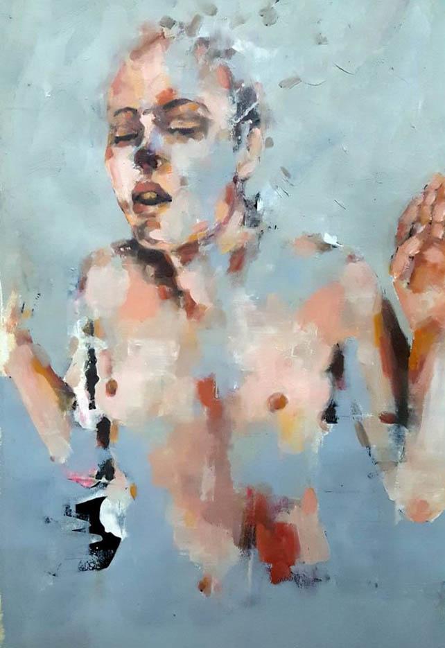 "Томас Дональдсон (Thomas Donaldson) ""Figure study 7-2-16"""