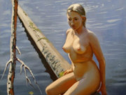 """Вера Донская-Хилько (Vera Donskaya-Khilko), """"Автопортрет"""""""