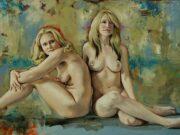 """Кимберли Доу (Kimberly Dow) """"Nude Study V"""""""