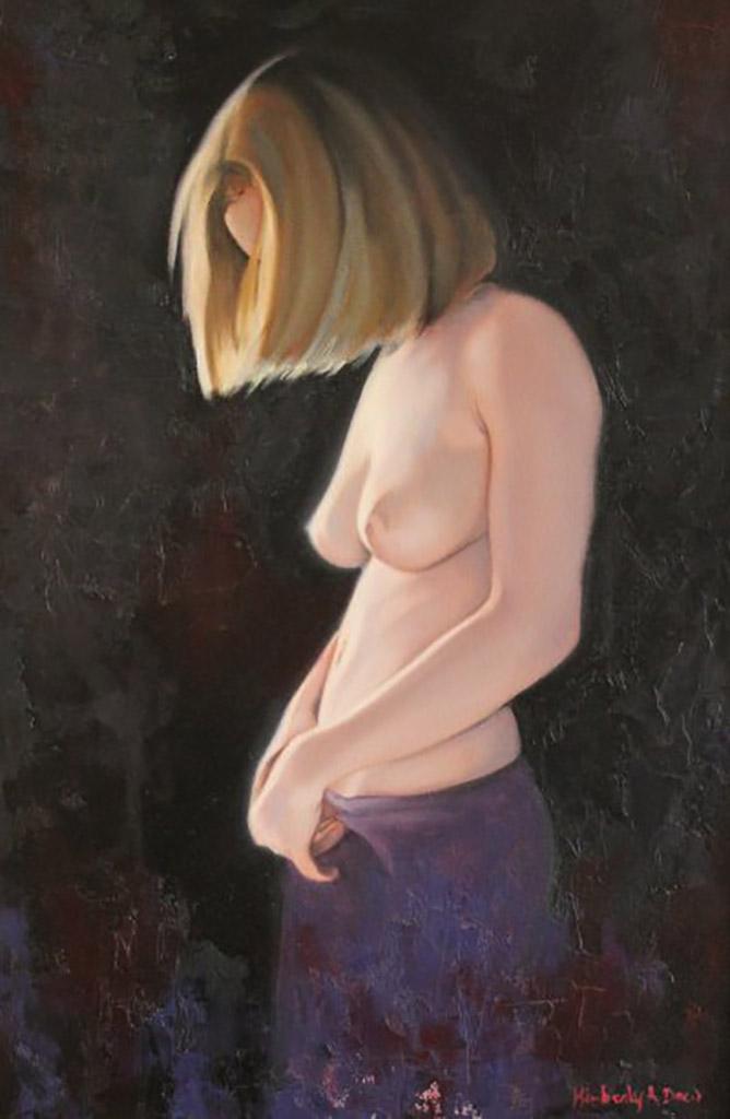 """Кимберли Доу (Kimberly Dow) """"Nude Study II"""""""