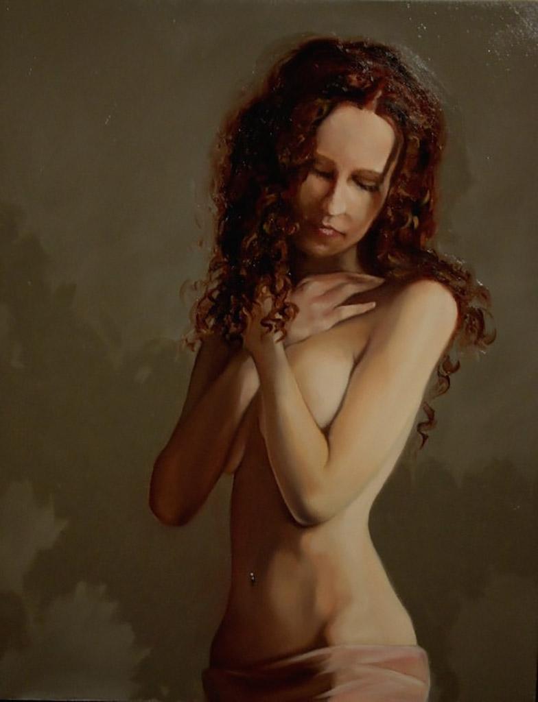 """Кимберли Доу (Kimberly Dow) """"Nude Study"""""""