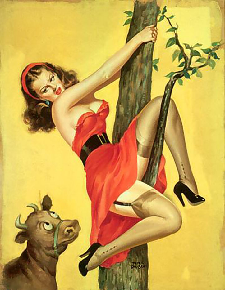 "Питер Дрибен (Peter Driben), ""Moo--Up in a Tree"""