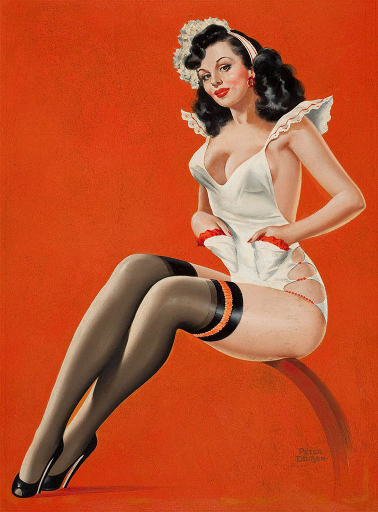 Pin up girls posters for any decor style