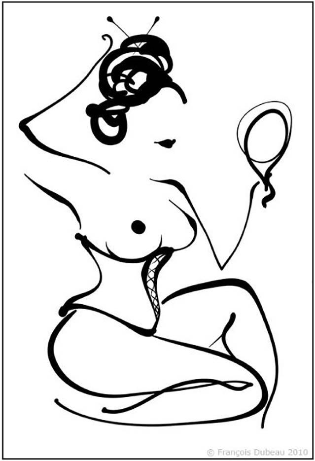 "Франсуа Дабо (Francois Dubeau), ""Geisha"""