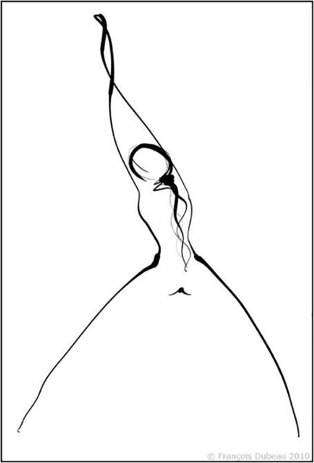 """Франсуа Дабо (Francois Dubeau), """"Les liens affectifs 2"""""""