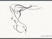 """Франсуа Дабо (Francois Dubeau), """"Calligraphique 3 """""""