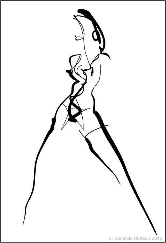 "Франсуа Дабо (Francois Dubeau), ""Porn Star"""