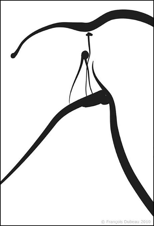 """Франсуа Дабо (Francois Dubeau), """"Sans titre – 14 """""""