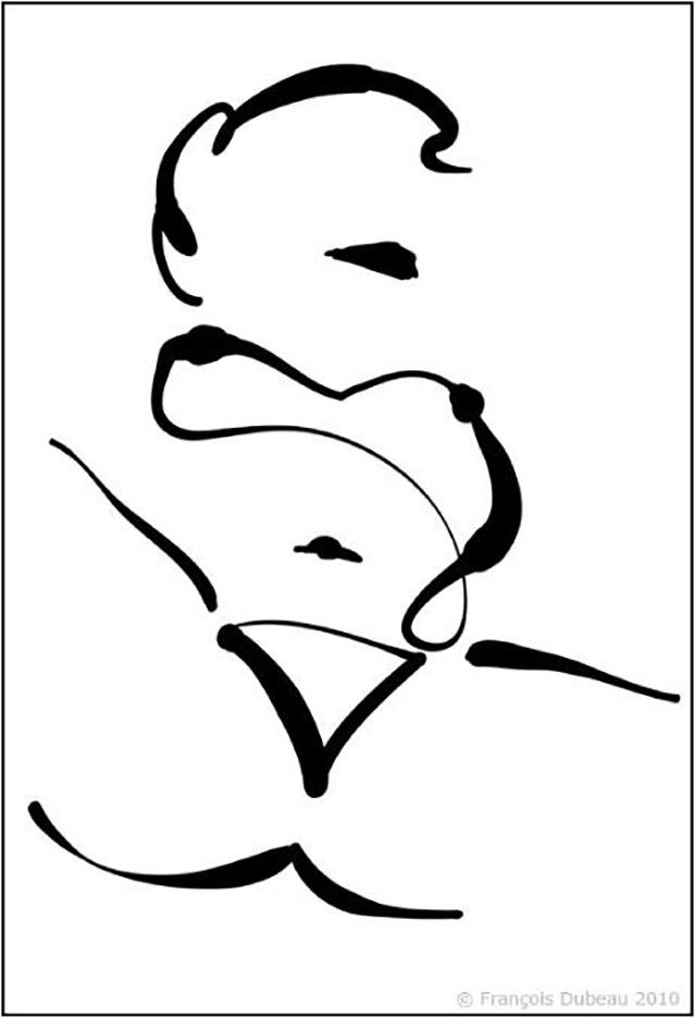 """Франсуа Дабо (Francois Dubeau), """"Sans titre – 23"""""""