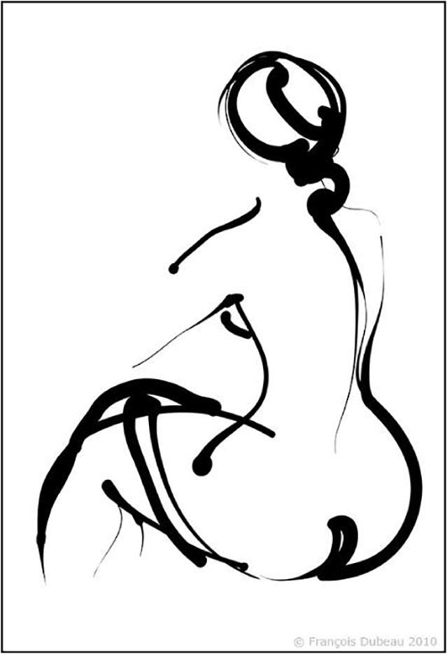 """Франсуа Дабо (Francois Dubeau), """"Sans titre – 25"""""""