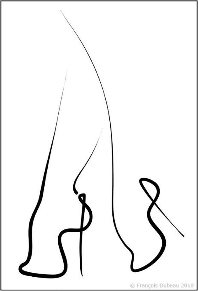 """Франсуа Дабо (Francois Dubeau), """"Sans titre – 27"""""""