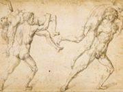 """Альбрехт Дюрер (Albrecht Durer), """"Двое мужчин, несущие на плечах двух женщин"""""""