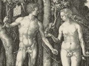 "Альбрехт Дюрер (Albrecht Durer), ""Adam and Eve (Гравюра)"""