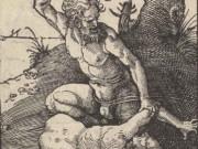 """Альбрехт Дюрер (Albrecht Durer), """"Cain Killing Abel (Гравюра)"""""""