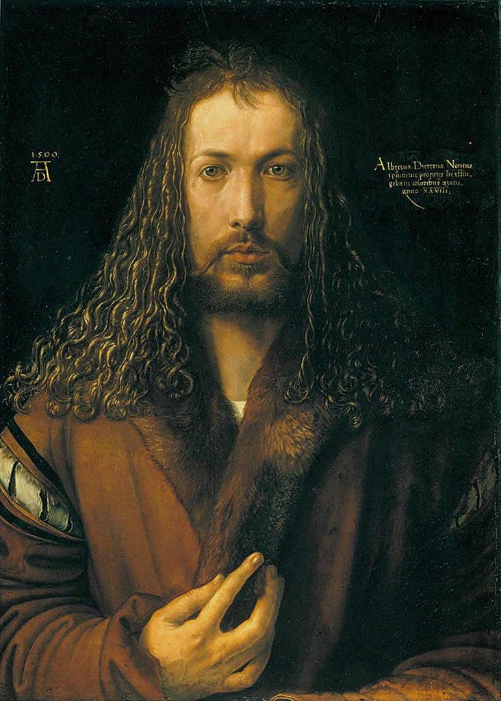 """Альбрехт Дюрер (Albrecht Durer), """"Автопортрет"""""""