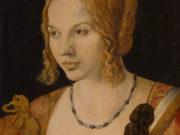 """Альбрехт Дюрер (Albrecht Durer), """"Портрет молодой венецианской женщины"""""""