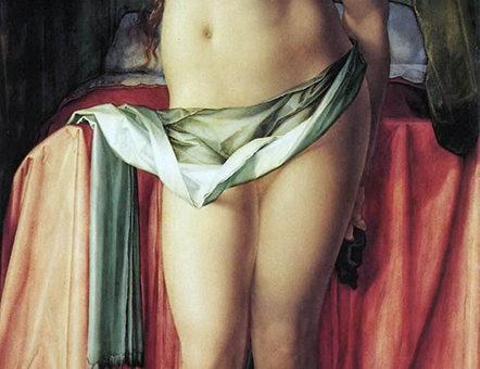 """Альбрехт Дюрер (Albrecht Durer), """"Самоубийство Лукреции"""""""