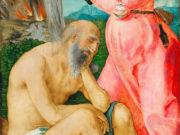 """Альбрехт Дюрер (Albrecht Durer), """"Иов и его жена"""""""