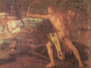"""Альбрехт Дюрер (Albrecht Durer), """"Геракл и Стимфалийские птицы"""""""