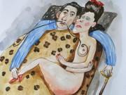 "Анжела Джерих (Anzhela Dzherih), ""Сон Сальвадора, спящего сюрреалистическим способом"""