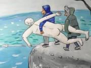 """Анжела Джерих (Anzhela Dzherih), """"Похищение Геракла в Симеизе"""""""