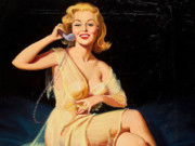 "Гарри Экман (Harry Ekman) ""Pin-up on the telephone"""