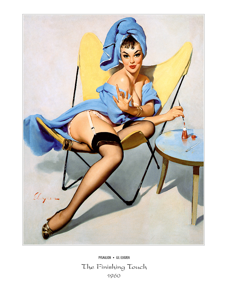 Джил Элвгрен (Gil Elvgren) (Part 1), The Finishing Touch