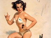 Джил Элвгрен (Gil Elvgren) (Part 1), Appreciative Audience