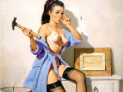 Джил Элвгрен (Gil Elvgren) (Part 1), The Wrong Nail