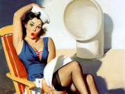 Джил Элвгрен (Gil Elvgren) (Part 1), Skirts Ahoy!