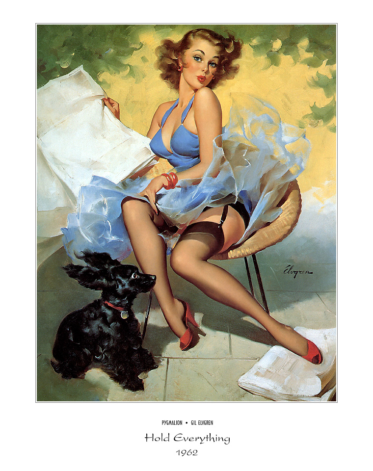 Джил Элвгрен (Gil Elvgren) (Part 1), Hold Everything