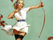 Джил Элвгрен (Gil Elvgren) (Part 1), Aiming High