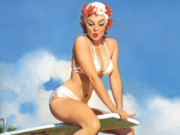 Джил Элвгрен (Gil Elvgren) (Part 1), Second Thoughts
