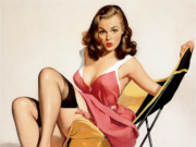 Джил Элвгрен (Gil Elvgren) (Part 1), That Low Down Feeling