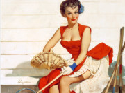 Джил Элвгрен (Gil Elvgren) (Part 1), Worth Cultivating