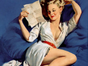Джил Элвгрен (Gil Elvgren) (Part 1), He Thinks Im Too Good to Be True