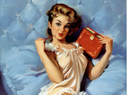 Джил Элвгрен (Gil Elvgren) (Part 1), Thinking of You