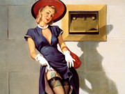 Джил Элвгрен (Gil Elvgren) (Part 1), Socking It Away