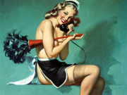 Джил Элвгрен (Gil Elvgren) (Part 1), I Gave Him the Brush Off