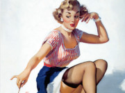 Джил Элвгрен (Gil Elvgren) (Part 1), Looking for Trouble