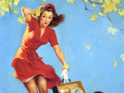 Джил Элвгрен (Gil Elvgren) (Part 1), Finders Keepers
