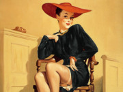 "Джил Элвгрен (Gil Elvgren) (Part 1), The Verdict Was ""Wow!"""