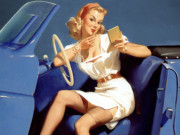 Джил Элвгрен (Gil Elvgren) (Part 1), I Run into the Most Interesting People