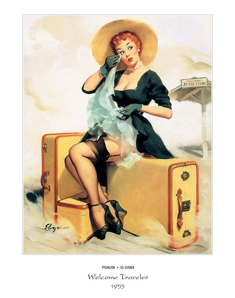 Джил Элвгрен (Gil Elvgren) (Part 1), Welcome Traveler