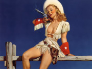 Джил Элвгрен (Gil Elvgren) (Part 1), Aiming to Please