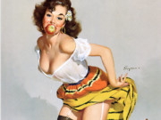 Джил Элвгрен (Gil Elvgren) (Part 1), The Winner