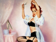 Джил Элвгрен (Gil Elvgren) (Part 1), Hairline Decision