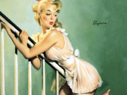 Джил Элвгрен (Gil Elvgren) (Part 1), Look Out Below