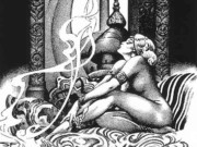 Stephen E. Fabian Erotic illustration - 6