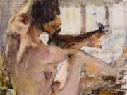 Николай Фешин (Nikolay Feshin), Ню. Этюд (1914)